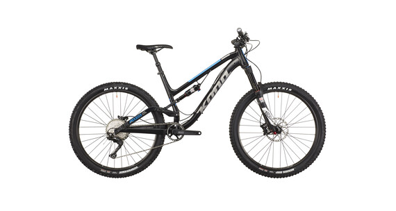 Kona Process Deluxe 134A MTB Fullsuspension sort